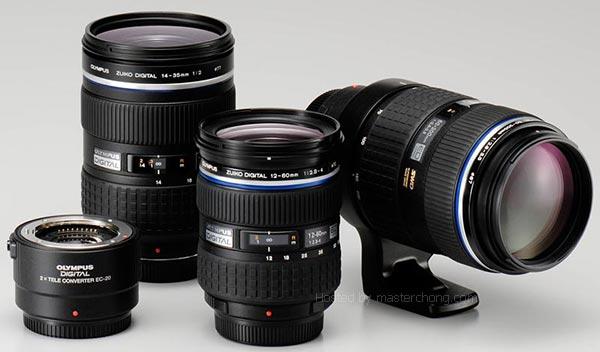 Olympus 3 new Zuiko lens and 2x teleconvertor