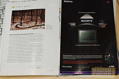 Sony Alpha DSLR Ads Page